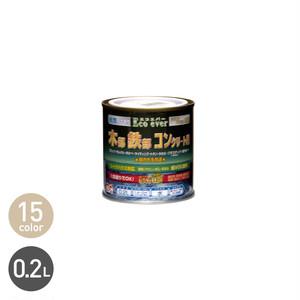 汚れに強い多用途塗料 水性エコエバー 0.2L