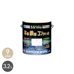 汚れに強い多用途塗料 水性エコエバー 3.2L