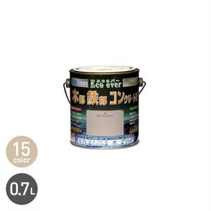 汚れに強い多用途塗料 水性エコエバー 0.7L