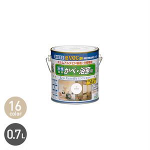ビニール壁紙にも塗れる 水性エコファミリー 0.7L