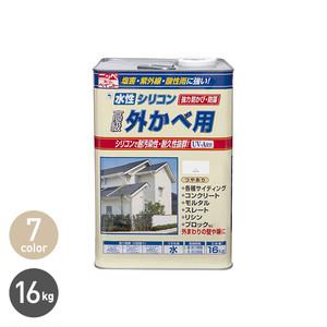 水性シリコン外かべ用 16kg