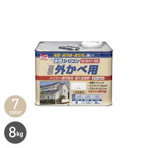水性シリコン外かべ用 8kg