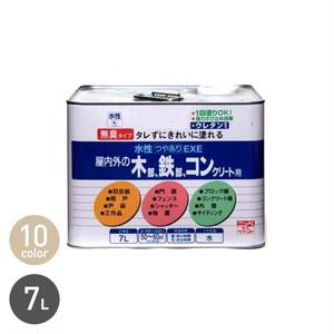 アクリルウレタンの高耐久多用途塗料 水性つやありEXE 7L