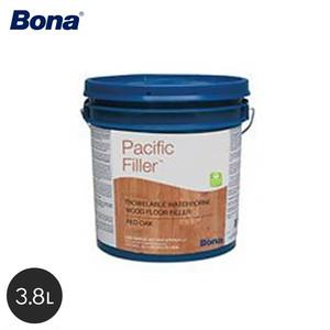 Bona 目隙やクラック、ホール、欠けなどの充填用の水性コンパウンド パシフィックフィラー レッドオーク 3.8L