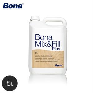 Bona 木の研磨剤を混ぜて使用するパテ ミックス&フィル プラス 5L