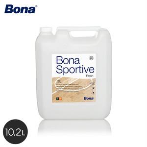 Bona 体育館などの屋内スポーツフロアの表面仕上げに スポーティブフィニッシュ(硬化剤付) 10.2L