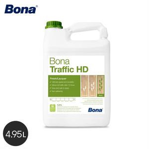 Bona 無色透明で自然な仕上がりの屋内フローリング用のトップコート トラフィック HD 4.95L