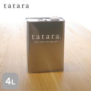 浸透性木部用仕上げ材 tatara撥水セラミックヤケ止め屋内用 4L