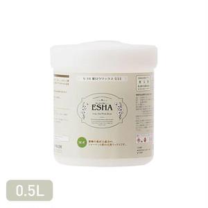 しっとりとした膜で木材表面を保護する天然ワックス ESHA 蜜ロウワックス 0.5L
