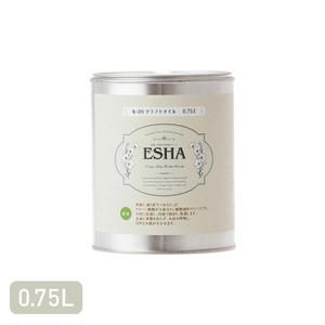 木製クラフトを保護する透明ワニス ESHA クラフトオイル 0.75L