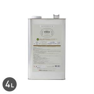 乾燥が早く、水をはじき、木材を保護する ESHA クリアオイル ラピッド 4L