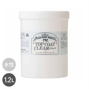 手垢汚れを保護 トップコートクリア 1.2L