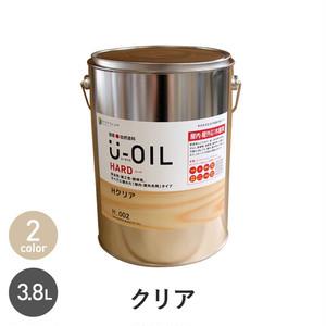シオン 国産 自然塗料 U-OIL ハード クリア 3.8L