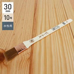 水性塗料用刷毛 メジ用 ビーナス 10号30mm