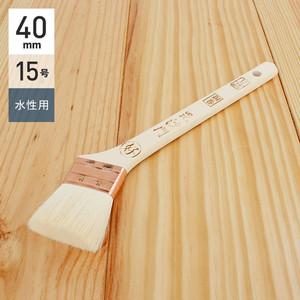 水性塗料用刷毛 毘沙門 銅巻 15号40mm