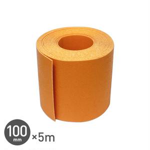強力溶着式ラインテープ! ロードマーキング ライン 100mm×5m 黄
