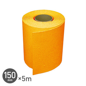 強力溶着式ラインテープ! ロードマーキング ライン 150mm×5m 黄