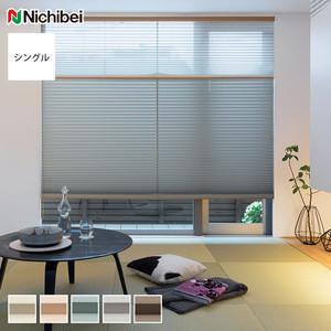【遮光】 ニチベイ プリーツスクリーン もなみ シングルスタイル レクレ