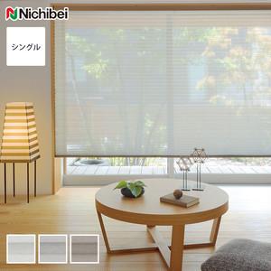 【制電・広幅】 ニチベイ プリーツスクリーン もなみ シングルスタイル リノン