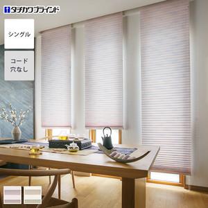 【制電】タチカワブラインド プリーツスクリーン フィーユ 標準・シングルタイプ アサノハ
