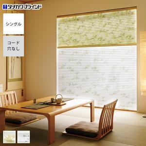 タチカワブラインド プリーツスクリーン フィーユ 標準・シングルタイプ 薄葉(うすよう)