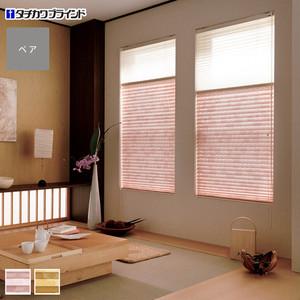 タチカワブラインド プリーツスクリーン ペルレ25 ペアタイプ ハナゴロモ