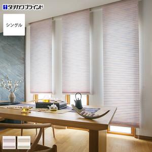【制電】タチカワブラインド プリーツスクリーン ペルレ25 シングルタイプ アサノハ