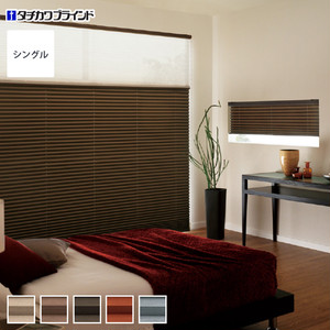 【遮光・広幅】タチカワブラインド プリーツスクリーン ペルレ25 シングルタイプ ノッテ