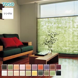 【最低価格保証中】TOSO プリーツスクリーン シングルスタイル コルト扇