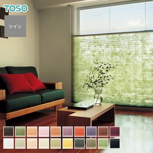 【最低価格保証中】TOSO プリーツスクリーン ツインスタイル コルト扇