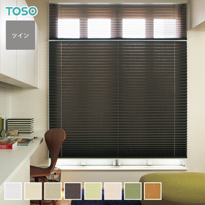 TOSO プリーツスクリーン ツインスタイル コルト