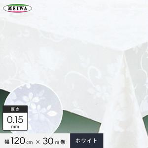 明和グラビア MGフィルム〈ホワイト〉 ビニール製 MG-6501 120cm幅×30m巻×0.15mm厚