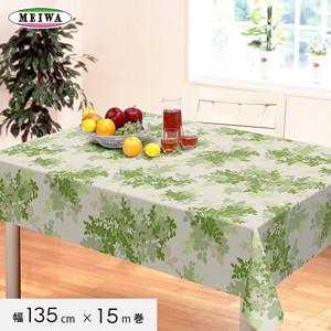 明和グラビア テーブルクロス ビニール製 MGOXシリーズ 135cm幅×15m巻 MGOX-101