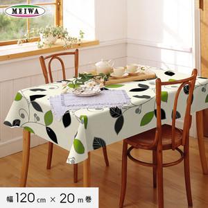 明和グラビア テーブルクロス ビニール製 ニューファブリッククロス 120cm幅×20m巻 NFC-102