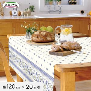 明和グラビア テーブルクロス ビニール製 ニューファブリッククロス 120cm幅×20m巻 NFC-106