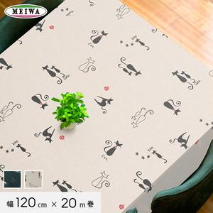 明和グラビア ビニール製 テーブルクロス ニューファブリッククロス 120cm幅×20m巻 NFC-108