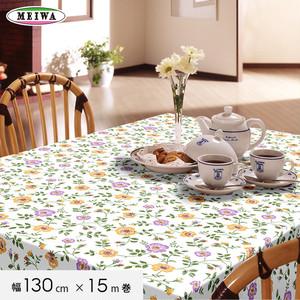 明和グラビア テーブルクロス ビニール製 スラブメッシュクロス 130cm幅×15m巻 SMC-101
