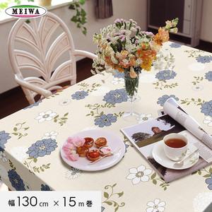 明和グラビア テーブルクロス ビニール製 スラブメッシュクロス 130cm幅×15m巻 SMC-106