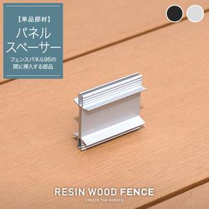 人工木フェンス RESTA RESIN WOOD FENCE パネルスペーサー