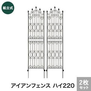 新アイアンフェンス ハイ220 2枚組 540×14×2200mm