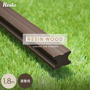 RESTAオリジナル 人工木ウッドデッキ RESIN WOOD 根太(直置き用) 長さ1.8m