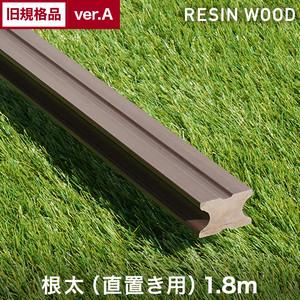 【旧規格品アウトレットverA】RESTAオリジナル 人工木ウッドデッキ RESIN WOOD 根太(直置き用) 長さ1.8m